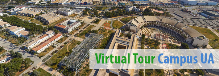 tour Virtual campus university of alicante